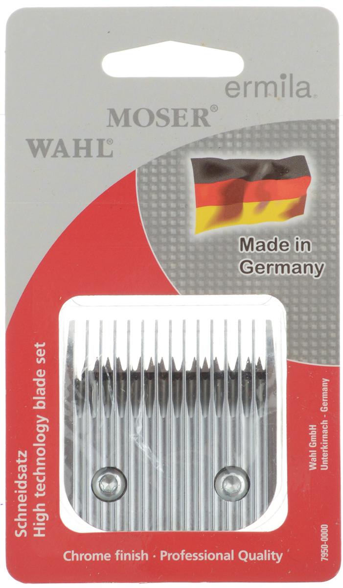 Ножевой блок Moser 5F, для машинки Moser Max 45, съемный, 7 мм1225-5870Ножевой блок Moser 5F - профессиональный быстросъемный прецизионно заточенный ножевой блок из высококачественной стали, изготовленный в Германии с использованием технологии высокоточной шлифовки. Блок с крупными зубцами. Совместим с моделями машинок 1245, 1247, 1250, 1260, 1261, 1262, 1290. Высота среза: 7 мм. Ширина ножевого блока: 47 мм. Шаг зубцов: 3,06 мм.