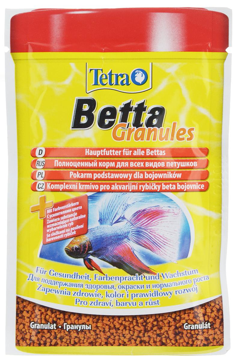 Корм для петушков Tetra Betta. Granules, гранулы, 5 г193680Корм для петушков Tetra Betta. Granules – это питательный сбалансированный корм для всех видов петушков.Чрезвычайно аппетитные плавающие гранулы с натуральными усилителями цвета придадут вашим рыбкам красивую окраску. Корм обогащен витаминами и питательными веществами для укрепления иммунной системы. Рекомендации по кормлению: Кормить несколько раз в день маленькими порциями.Состав: зерновые культуры, экстракты растительного белка, рыба и побочные рыбные продукты, масла и жиры, дрожжи, моллюски и раки, минеральные вещества, водоросли.Аналитические компоненты: сырой белок - 43%, сырые масла и жиры - 10%, сырая клетчатка - 2%, содержание влаги - 8%.Товар сертифицирован.