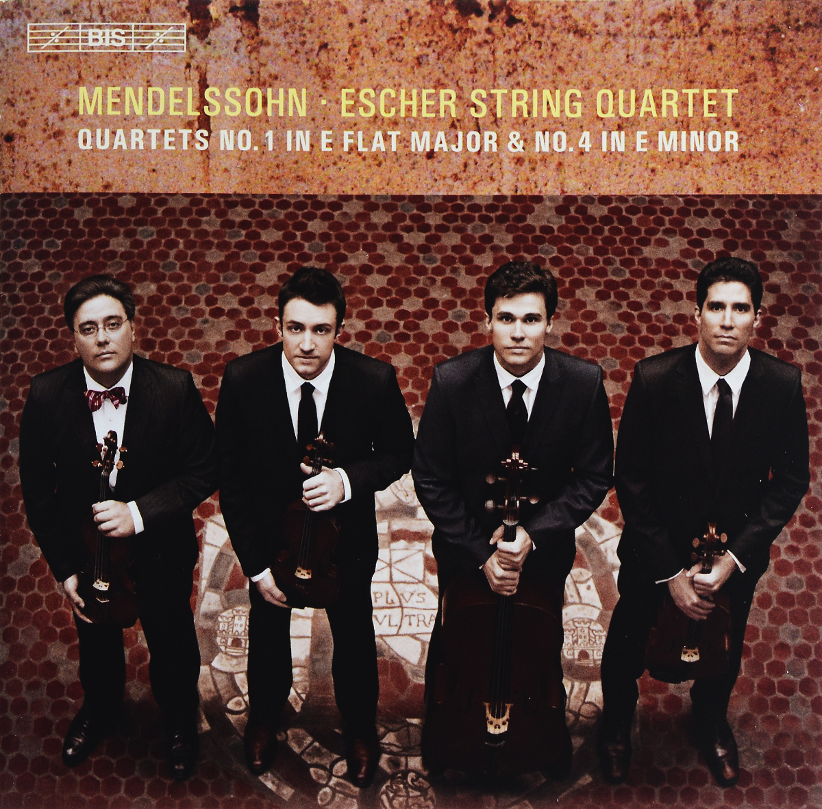 Escher String Quartet Escher String Quartet. Mendelssohn. String Quartets Nos 1 & 4 (SACD) escher string quartet escher string quartet mendelssohn string quartets nos 1
