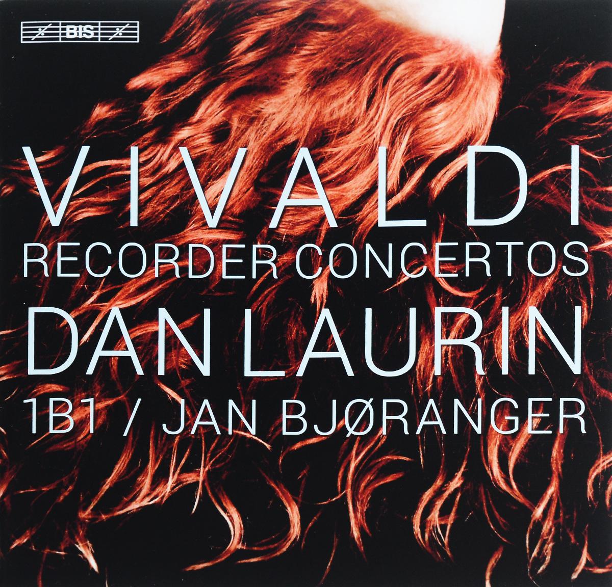 Ден Лаурин,1B1,Jan Bjoranger,Anna Paradiso,Jonas Nordberg Dan Laurin. Vivaldi. Recorder Concertos (SACD)