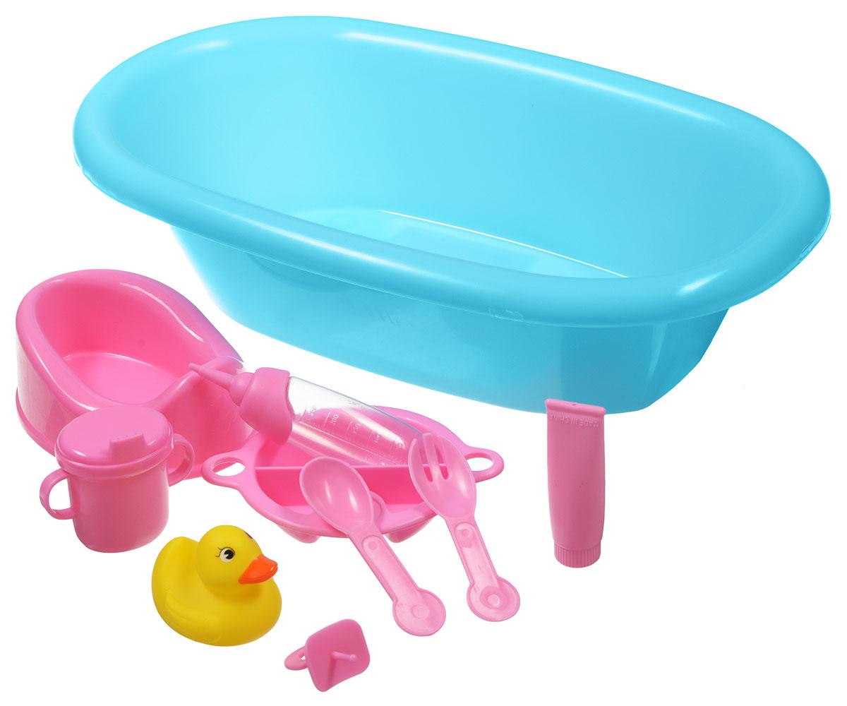 Simba Набор аксессуаров Ванночка цвет ванночки голубой simba музыкальная гитара на батарейках свет звук 43 5 см 4010529
