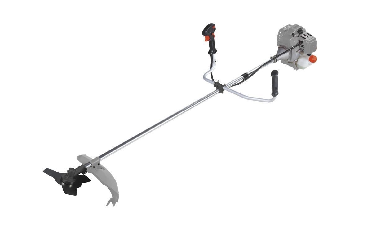 Триммер бензиновый Ставр ТБ-1400Лст1400лБензиновый триммер Ставр ТБ-1400Л - легкий инструмент, при помощи которого можно подравнять траву на приусадебном участке, возле садового домика. В качестве режущего элемента используется нейлоновая леска или нож.Объем двигателя: 42,7 см3.Мощность: 1,4 кВт.Ширина скашивания: 44 см. Количество оборотов (леска): 9000 об/мин.Количество оборотов (нож): 9500 об/мин.Тип штанги: неразборная.Топливная смесь: бензин АИ-92+Масло 25:1.