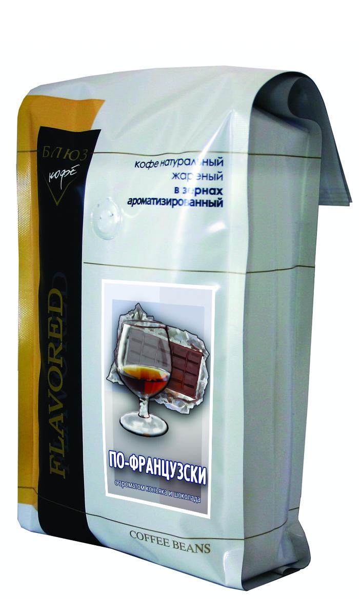 Блюз Ароматизированный По-французски кофе в зернах, 1 кг блюз ароматизированный шоколад кофе молотый 200 г