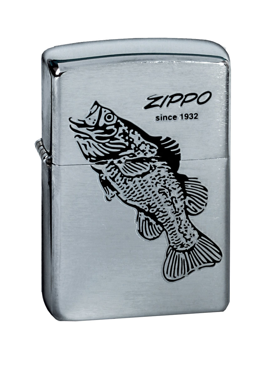 Зажигалка Zippo Classic. Black Bass, 3,6 х 1,2 х 5,6 см200 BLACK BASSЗажигалка Zippo Classic. Black Bass станет хорошим подарком курящим людям. Корпус зажигалкивыполнен из высококачественной латуни и оформлен оригинальным изображением. Изделиеветроустойчиво - легко приводится в действие на улице.Стиль начинается с мелочей -окружите себя достойными стильными предметами.