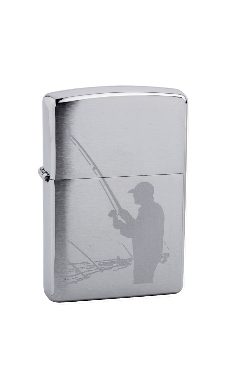 Зажигалка Zippo Classic. Fisherman, 3,6 х 1,2 х 5,6 см200 FishermanЗажигалка Zippo Classic. Fisherman станет хорошим подарком курящим людям. Корпус зажигалки выполнен из высококачественной латуни и оформлен оригинальным изображением. Изделие ветроустойчиво - легко приводится в действие на улице.Стиль начинается с мелочей - окружите себя достойными стильными предметами.