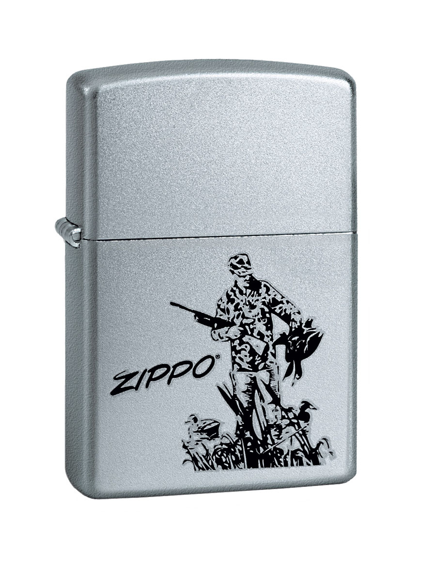 Зажигалка Zippo Classic. Duck Hunting, 3,6 х 1,2 х 5,6 см wholesale russia outdoor hunting decoys remote control 4 aa battery hunting duck with magnet wings spinning
