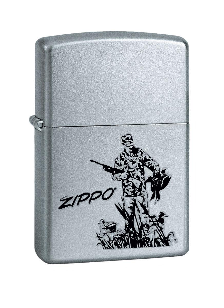 Зажигалка Zippo Classic. Duck Hunting, 3,6 х 1,2 х 5,6 см