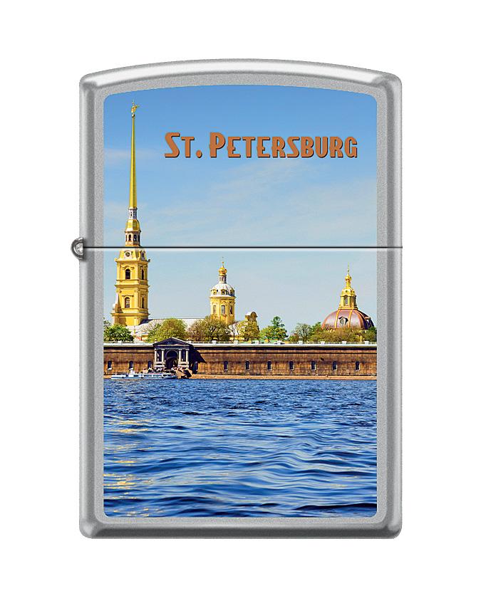 Зажигалка Zippo Classic. Peter Paul, 3,6 х 1,2 х 5,6 см peter paul mary peter paul mary the best of peter paul mary ten years together 2 lp