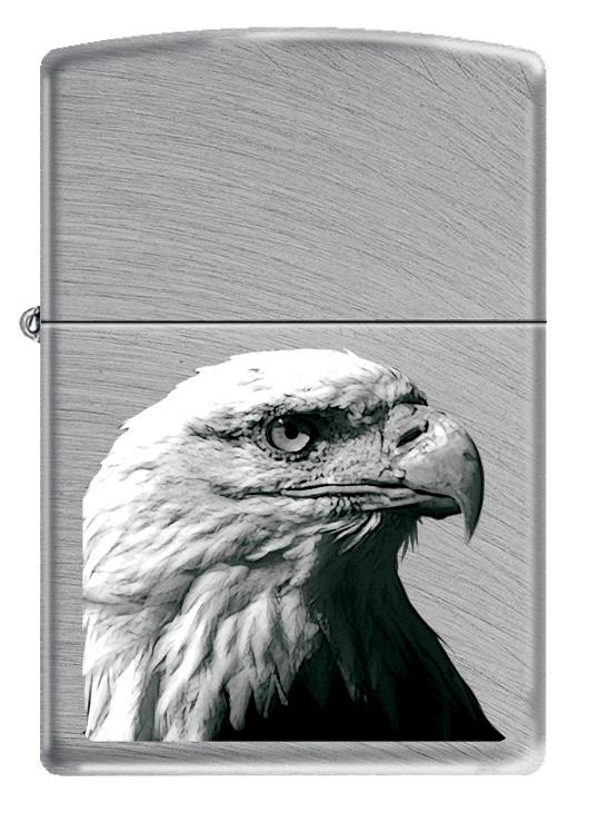 Зажигалка Zippo Classic. Eagle Head, 3,6 х 1,2 х 5,6 см24647 EAGLE HEADЗажигалка Zippo Classic. Eagle Head станет хорошим подарком курящим людям. Корпус зажигалки, выполненный из высококачественной латуни с покрытием, оформлен изображением орла. Изделие ветроустойчиво - легко приводится в действие на улице.Стиль начинается с мелочей - окружите себя достойными стильными предметами.