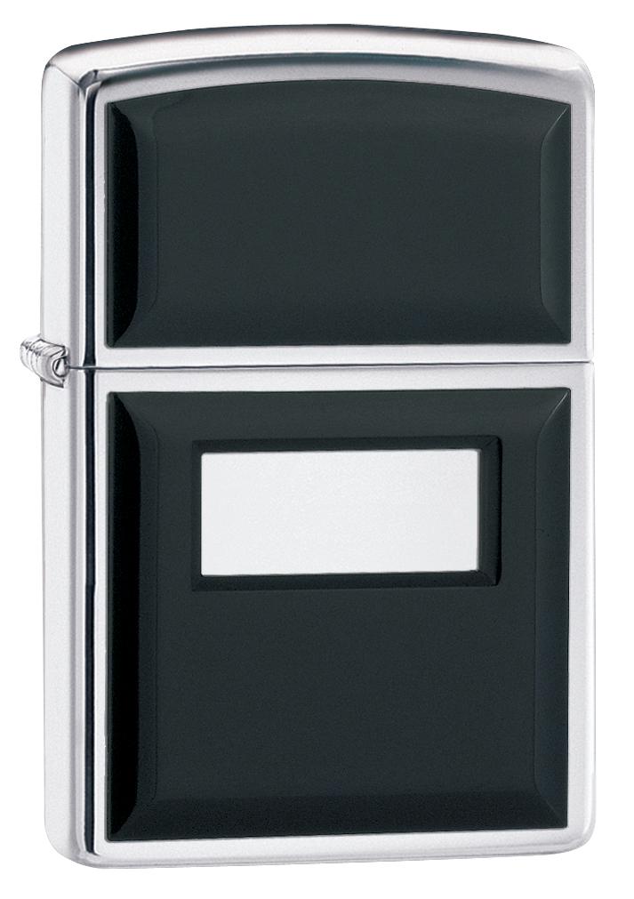 """Зажигалка Zippo """"Black Ultralite"""", 3,6 х 1,2 х 5,6 см. 355"""