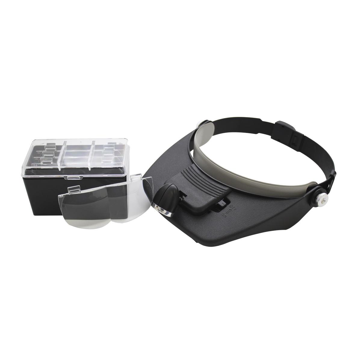 Лупа Bestex с креплением на голову и подсветкой. MG81001-A лупа bestex с креплением на голову и подсветкой mg81001 a