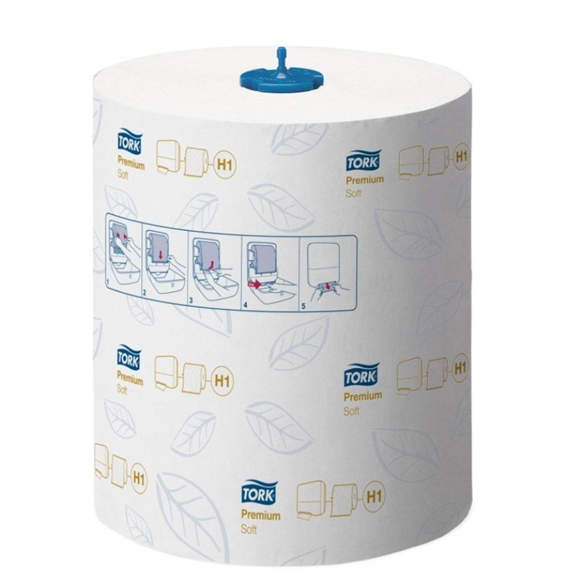 Полотенца бумажные Tork Matic, двухслойные, 6 рулонов290016Мягкие и объемные полотенца в рулонах. Благодаря использованию при производстве запатентованной технологии Сквозная сушка горячим воздухом (TAD) обладают высокой впитывающей способностью. Способны впитывать влаги в 8 раз больше собственного веса. Есть перфорация и тиснение в виде фирменных листочков. Экономный расход бумаги - в среднем 1,25 листа на человека.Система Н1 - рулонные полотенца. Категория Premium-класса.Состав: натуральная целлюлоза.Цвет: белый с синим тиснением.Размеры: 2 слоя, в рулоне 100 м (400 листов), ширина 21 см, в упаковке 6 рулонов.