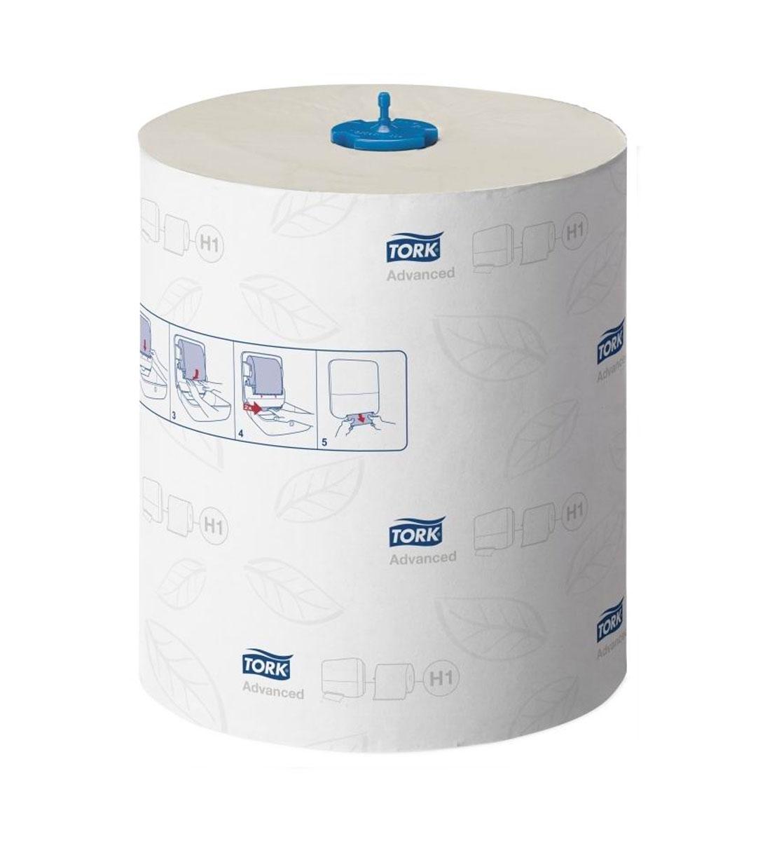 Бумажные полотенца Tork Matic, двухслойные, в рулонах, 150 м, 6 шт120067Бумажные полотенца Tork Matic качества Advanced произведены из натуральной целлюлозы высшего качества по технологии TAD - Сквозная сушка воздухом. Отбелены без хлора. Бумага имеет увеличенную плотность 25,5 г/м2 и толщину за счет 2 слоев. Бумага мягкая, отлично впитывает и отличается увеличенной прочностью. На бумаге имеется перфорация для легкого отрыва и прозрачное тиснение в виде листочков.Рулон экономичен, большой объем бумаги не требует частой перезаправки. Подходит для туалетных комнат с высокой и средней проходимостью. Расход на одного человека за посещение - 2 листа. Бумага в системе Н1 расходуется наиболее экономично.Количество слоев: 2.Длина рулона: 150 м.Ширина листа: 21 см.Количество листов в рулоне: 600.Система: H1 Matic system.