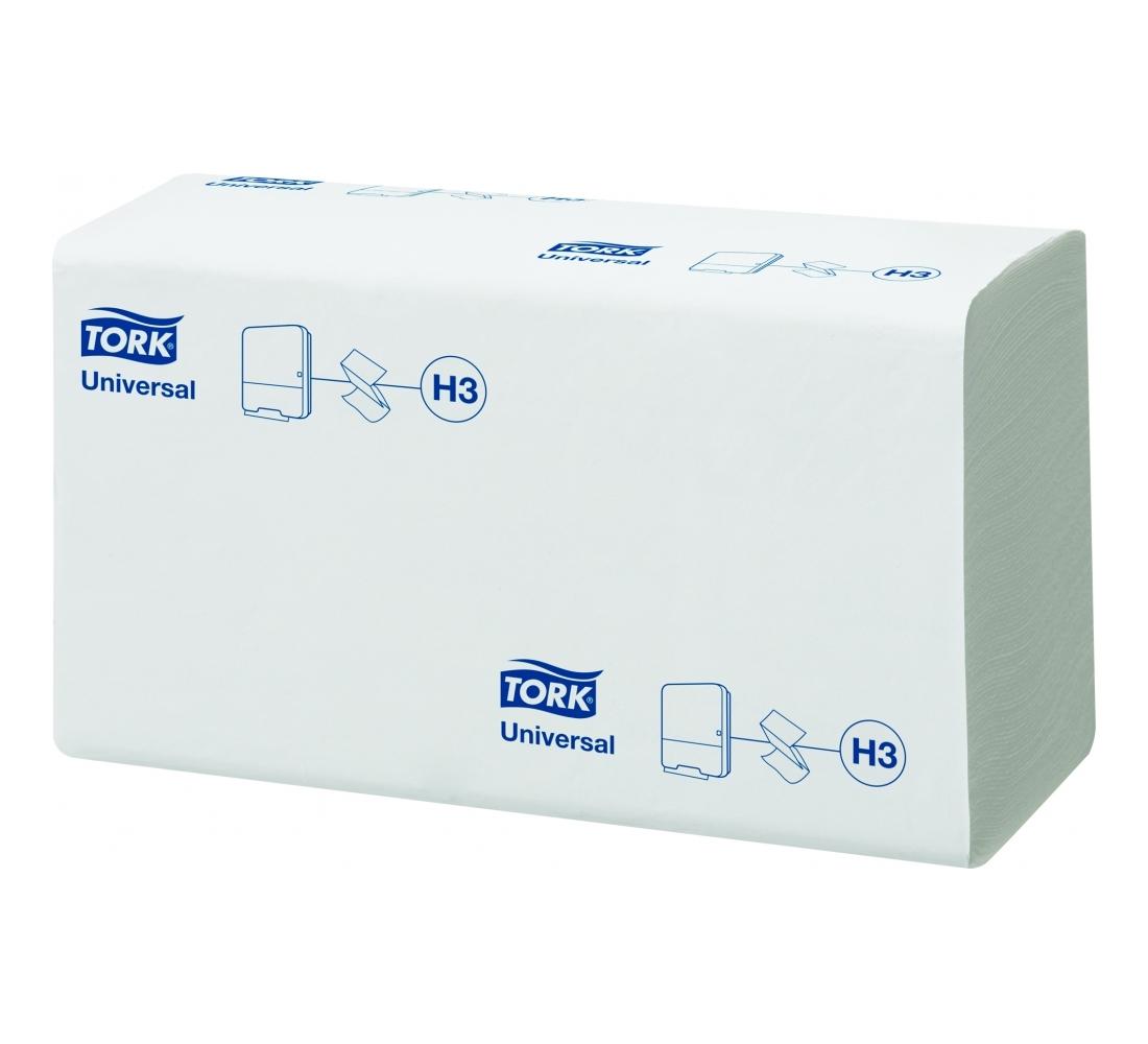 Tork листовые полотенца Singlefold сложения ZZ 1-сл 300л, коробка 15 шт
