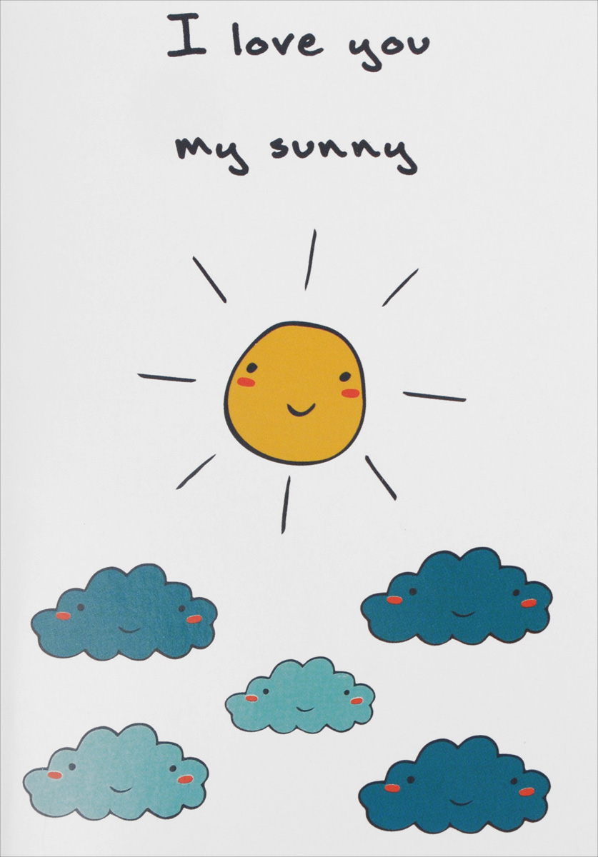 I Love You My Sunny. Блокнот для записей книга для записей дела архиважные