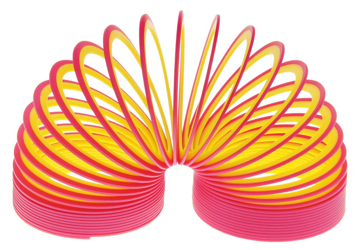 Slinky Пружинка Neon цвет красный желтый