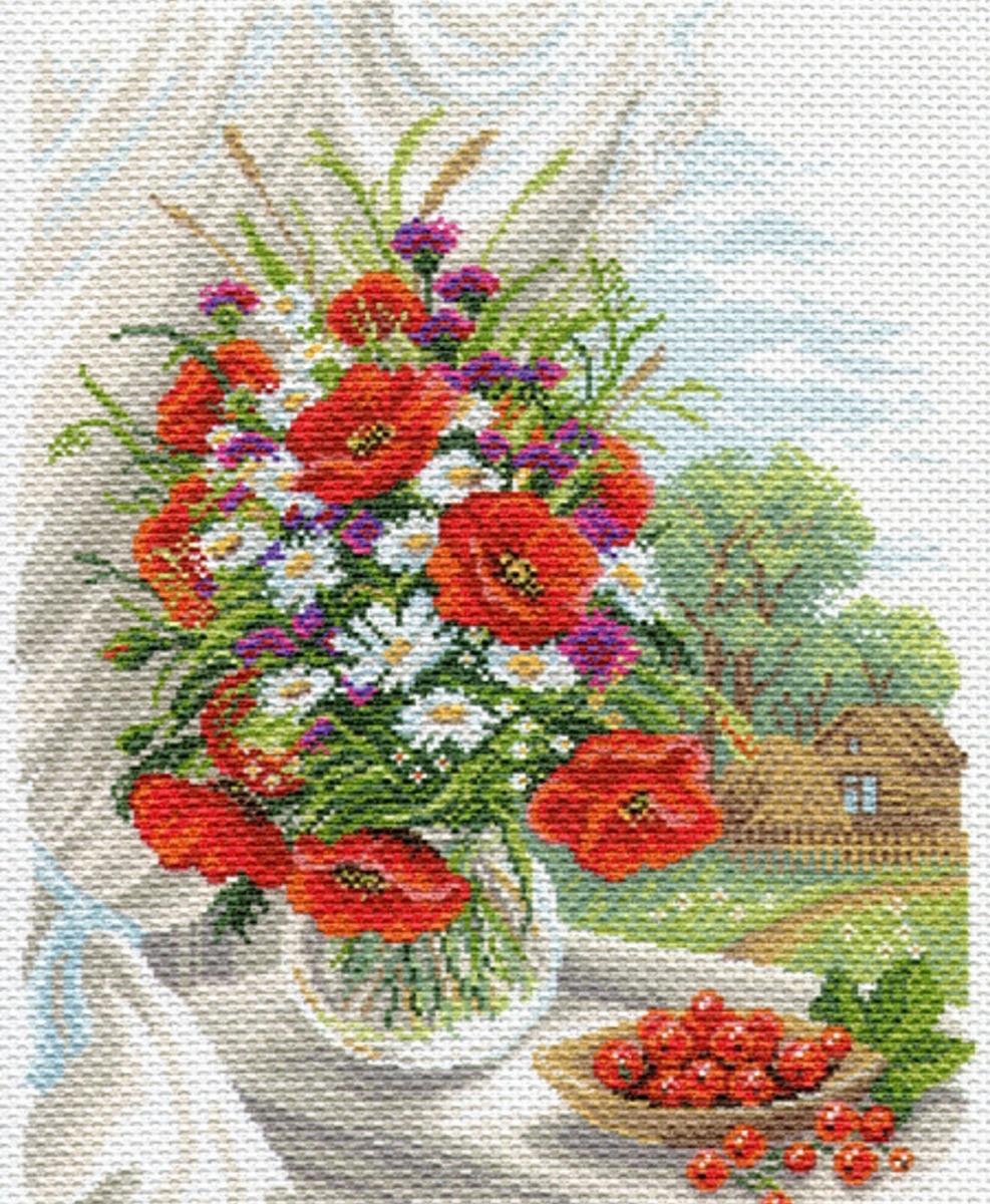 Канва с рисунком для вышивания Матренин Посад