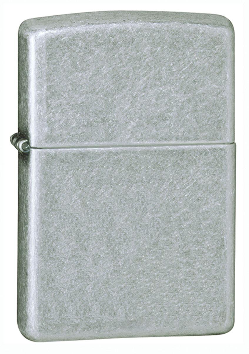 Зажигалка Zippo Standard Antique Silver Plate. 121Fb