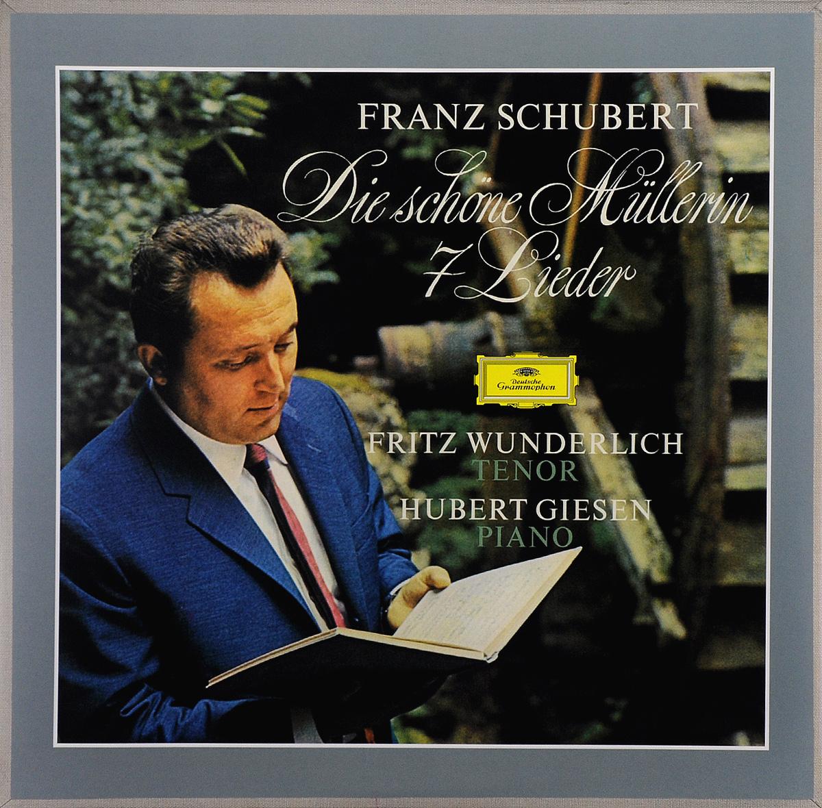 Fritz Wunderlich. Hubert Giesen. Franz Schubert. Die Schone Mullerin / 7 Lieder (LP)
