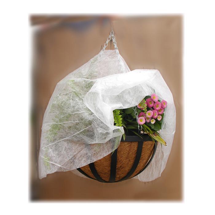 Укрывной материал для подвесных корзин Village people, диаметр 100см, цвет: белый. 6090260902