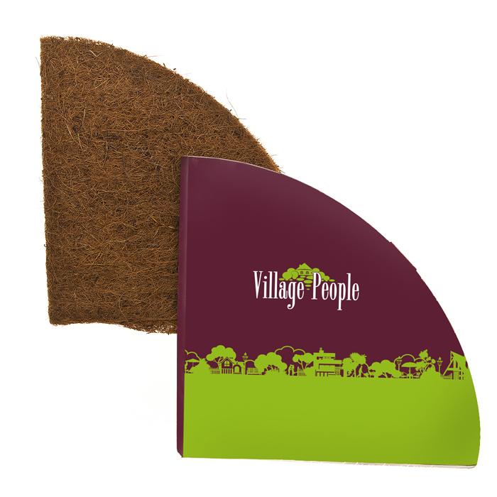 Вкладка для кашпо Village People, с коковитой, цвет: коричневый, диаметр 78-74 см. 6879468794Вкладка для кашпо Village People изготовлена из кокосового волокна (коковита). Коковита - органический субстрат, который получают из волокна, окружающего сердцевину кокосового ореха - койры. Во-первых, коковита - это экологически безопасная среда для растений, во-вторых, кокосовый субстрат обладает невероятной водопоглотительной и водоудерживающей способностью. Именно поэтому в последнее время российские садоводы при выращивании растений в качестве грунта все больше стали отдавать предпочтение кокосовому субстрату. Коковита подходит для выращивания многих растений и цветов, особенно орхидей, бромелий, применим как для садовых условий, так и для домашнего цветоводства. Вкладка для кашпо Village People с коковитой поможет вырастить цветы, которые впоследствии украсят интерьер вашего дома, сада или офиса. Диаметр кашпо: 78-74 см. Толщина: 5-6 мм.