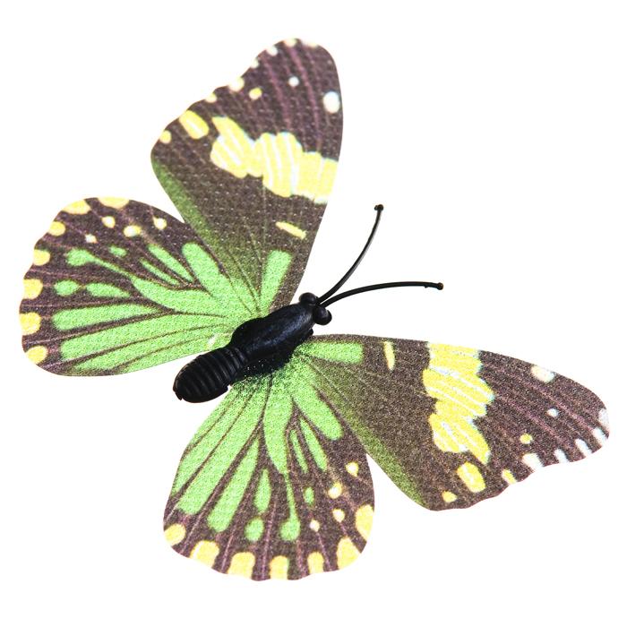 Украшение декоративное Village People Тропическая бабочка, с магнитом, в ассортименте, 7 х 5 х 1,5 см, 2 шт. 6902769027Декоративная фигурка Village People Тропическая бабочка изготовлена из ПВХ. Изделие выполнено в виде бабочки и оснащено магнитом, с помощью которого вы сможете поместить изделие в любом удобном для вас месте. Это не только красивое украшение, но и замечательный способ отпугнуть птиц с грядок. Яркий дизайн фигурки оживит ландшафт сада.Уважаемые клиенты!Обращаем ваше внимание на возможные изменения в цветовом дизайне, связанные с ассортиментом продукции. Поставка осуществляется в зависимости от наличия на складе.