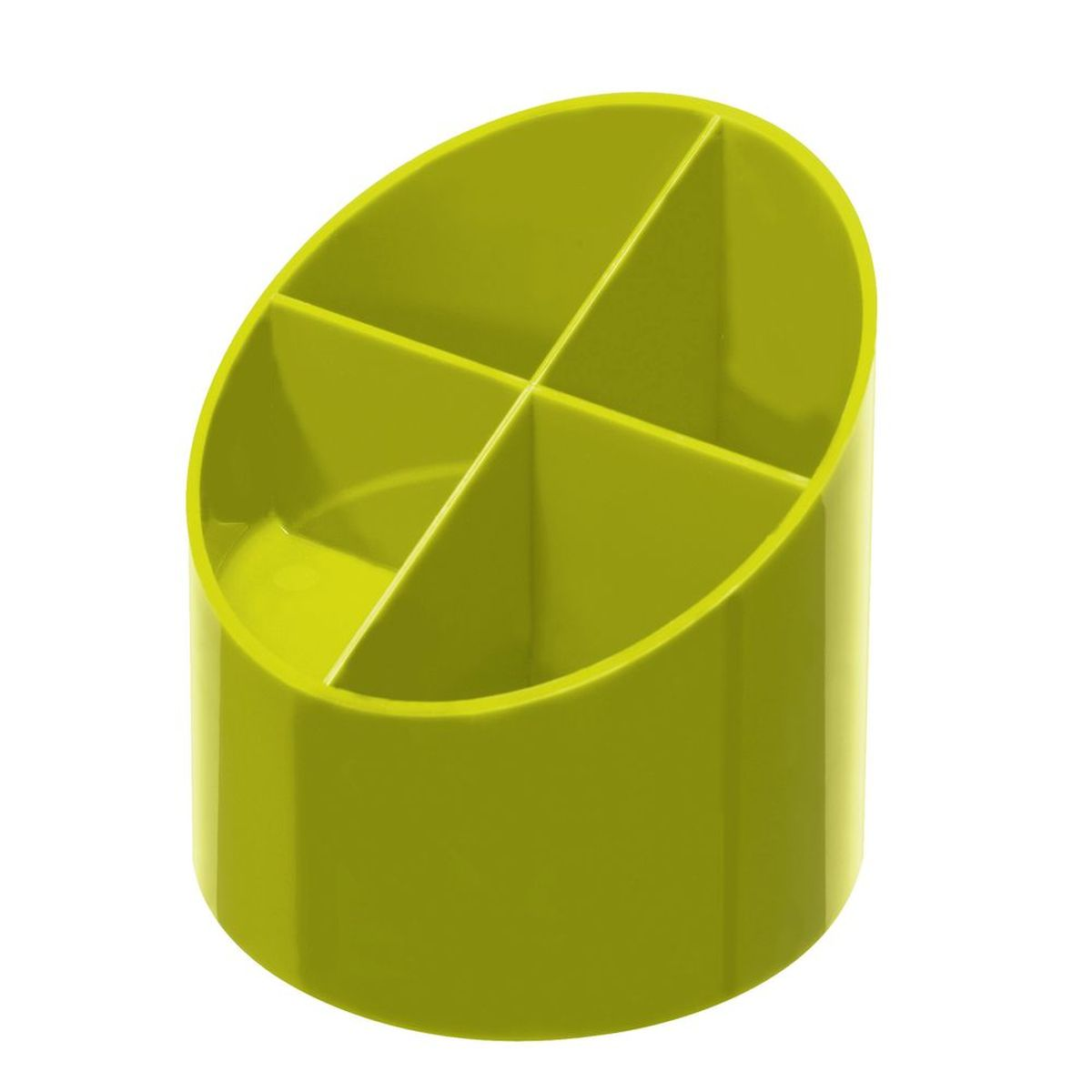 Herlitz Подставка для канцелярских принадлежностей Colour Blocking цвет лимонный11363736Практичная подставка для канцелярских принадлежностей Herlitz Colour Blocking поможет содержать порядок на рабочем столе. Она изготовлена из пластика и содержит 4 отделения. Яркий дизайн позволит ей стать достойным аксессуаром среди ваших канцелярских принадлежностей и будет дарить вам хорошее настроение.