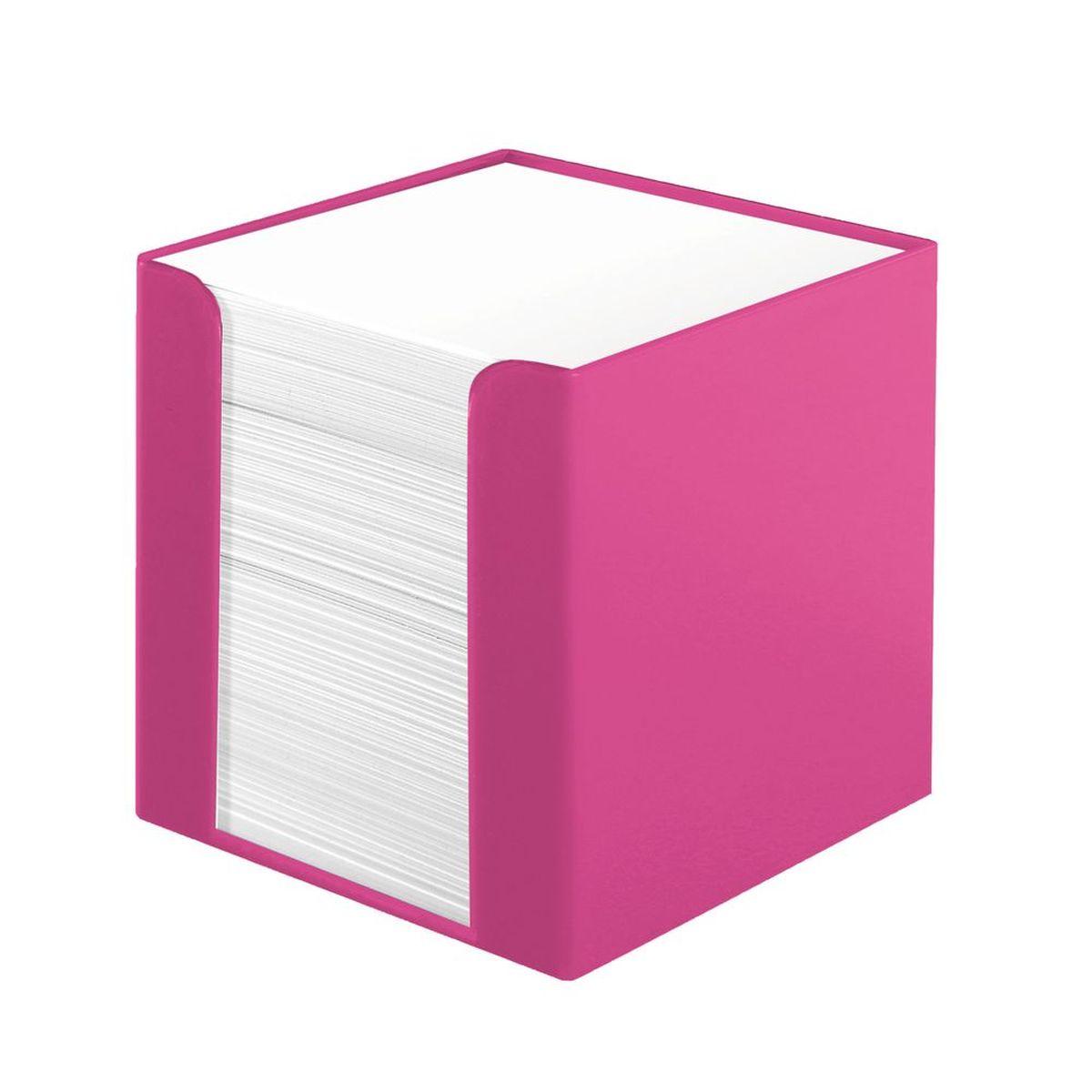 Herlitz Бумага для заметок Colour Blocking цвет подставки розовый11365038Бумага для заметок Herlitz Сolour Blocking - это удобное и практическое решение для быстрой записи информации дома или на работе.Блок состоит из листов белой бумаги и находится в пластиковой подставке в виде куба, которая вмещает в себя 700 листов. Игривый розовый цвет - по-настоящему яркое зрелище, способное всполошить дерзкими расцветками размеренность повседневности.