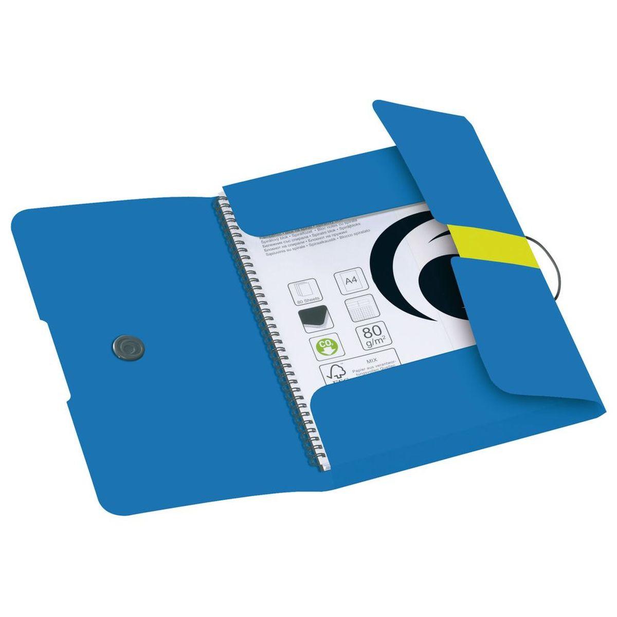 Herlitz Папка Easy Orga цвет синий желтый