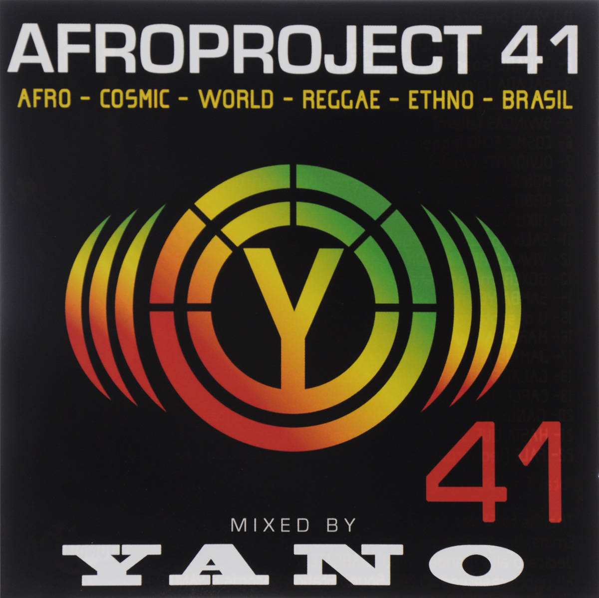 Dj Yano DJ Yano. Afro Project Vol. 41 dj yano dj yano afro project vol 24 special limited edition cd dvd