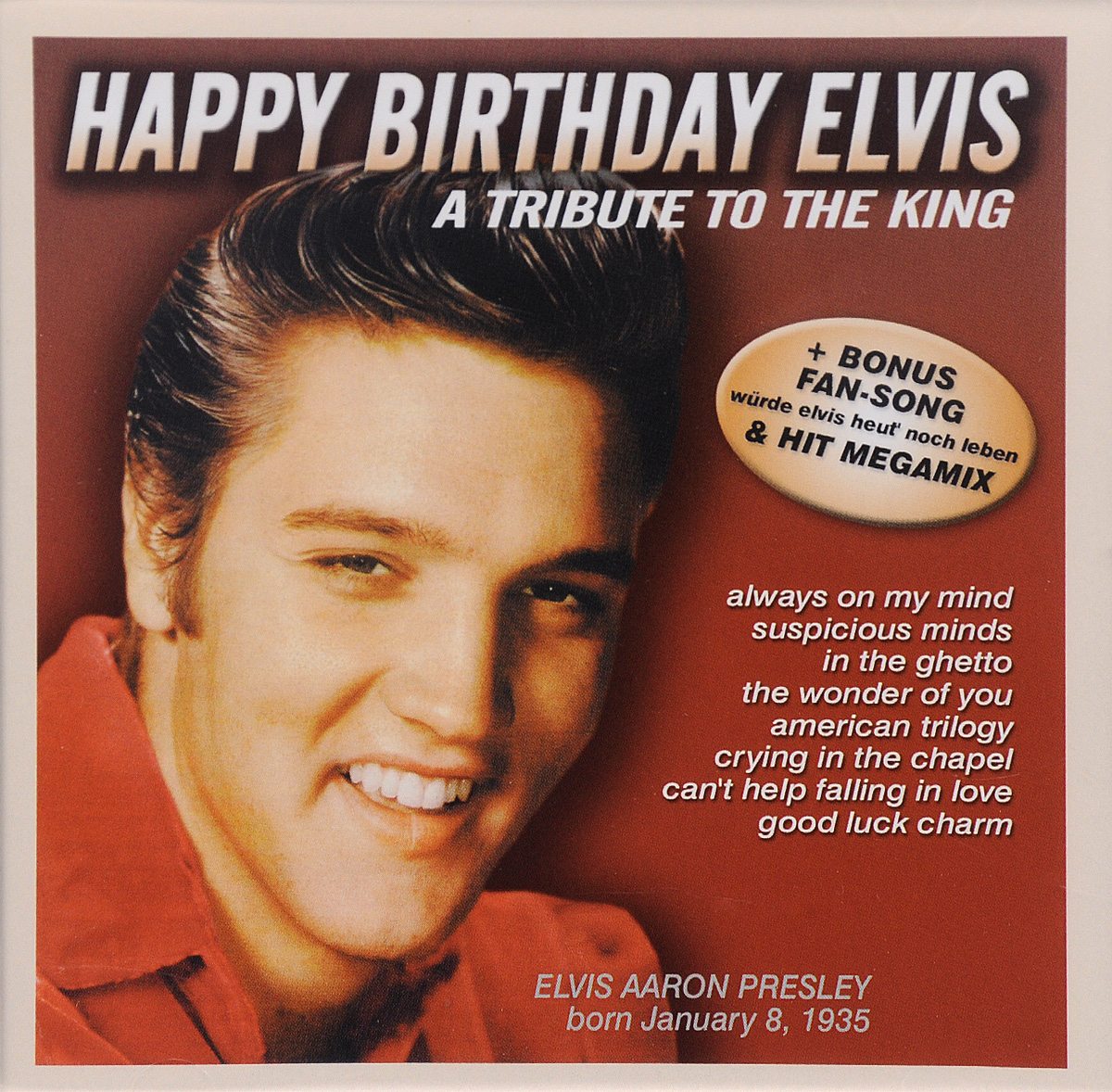 Марк Бендер Happy Birthday Elvis. A Tribute To the King (CD) чехол nite ize action armband l nipb2 01 r8