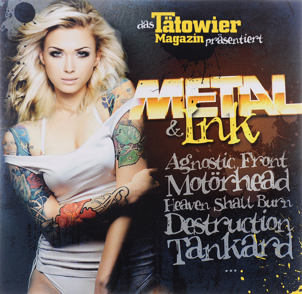 The Bones,Agnostic Front,Nitrogods,Danko Jones,Backyard Babies,The Meteors,The Generators,V8 Wankers,Sick Of It All,Heaven Shall Burn Metal & Ink
