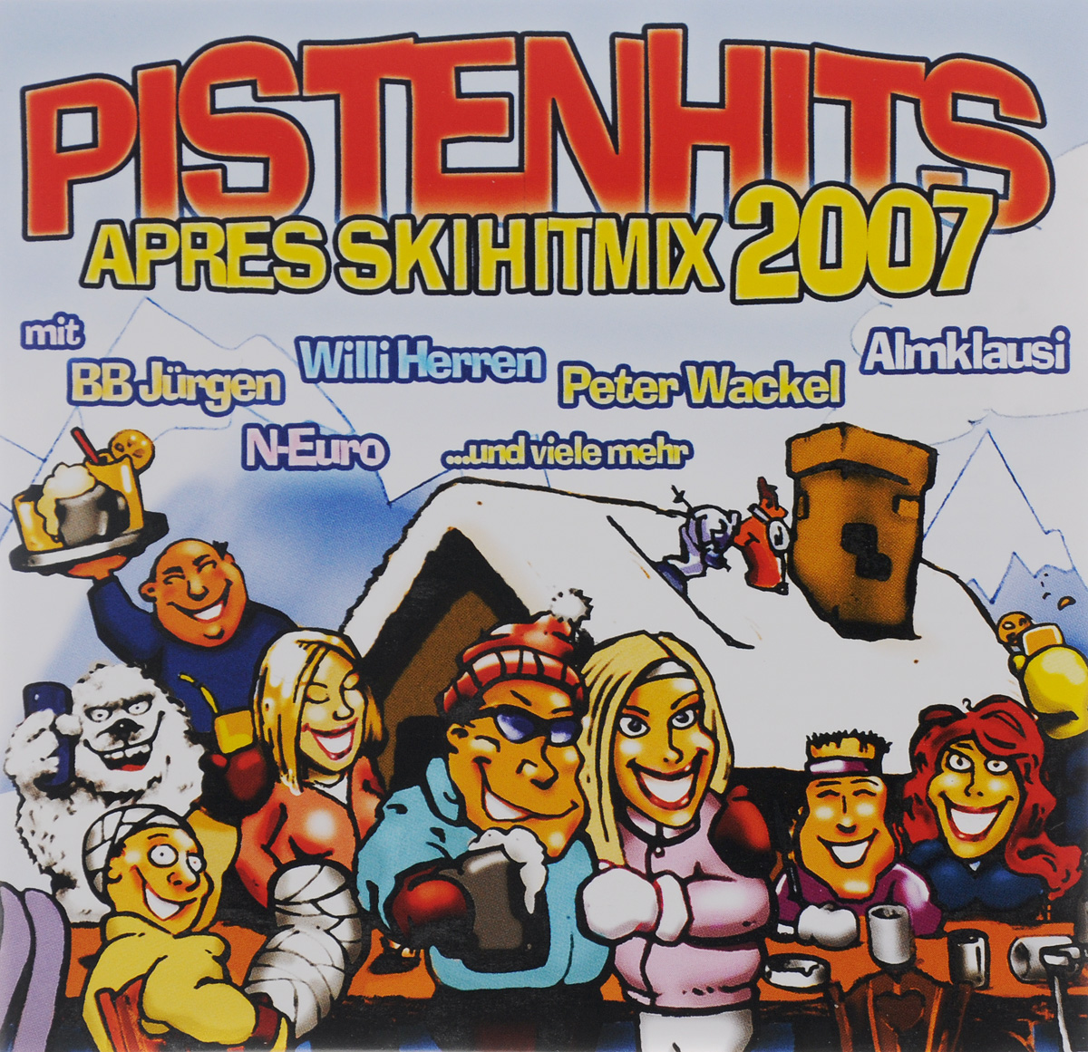 Питер Векель,Вилли Херрен,Krumel,Almklausi,Нуво Хауи,Tim Toupet,Leo Konig,Oliver Frank,Mountain Brothers,Yamboo,Dj Mox,Zascha,DJ Chriss Tuxi,A Crazy Sound Convoy,Шаун Бэйкер,Laid Back,Goleo Vi,Atomic Kitten,Mysterious Girl,Bass Up! Pistenhits. Apres Ski Hitmix 2007 (2 CD) leather s dj amdition level 2 cd