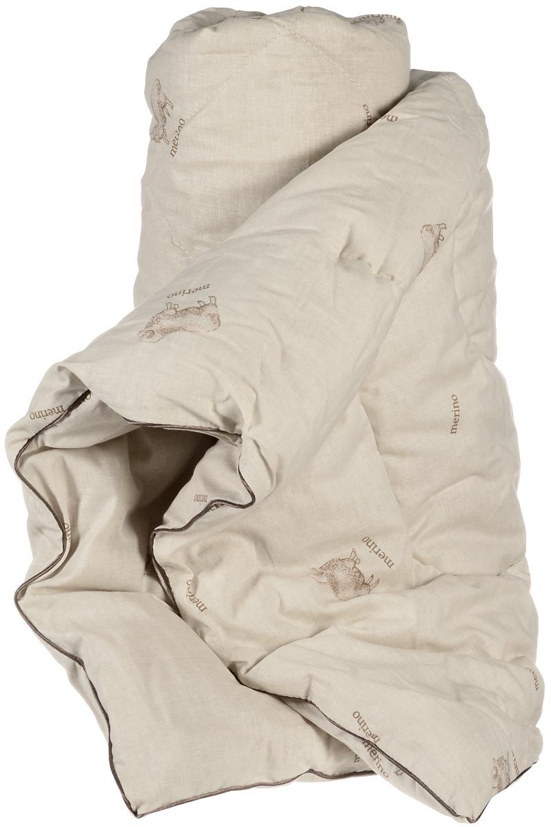 Легкие сны Одеяло детское теплое Полли наполнитель овечья шерсть 110 см x 140 см