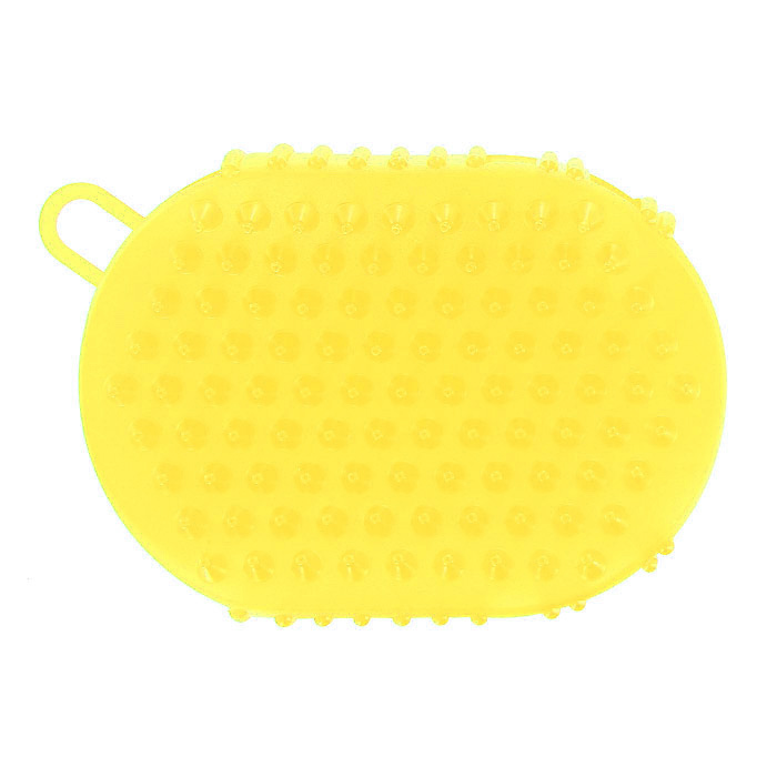 Массажер-варежка Дельтатерм Варюша, цвет: желтый00-00000215Массажер Варюша подарит вашей коже здоровье, а здоровая кожа - это необходимое условие безупречного внешнего вида. Два удовольствия в одном изделии: мягкий поверхностный пилинг и антицеллюлитный массаж! Варюшу можно использовать в душе вместо мочалки, а также в сауне или бане. Массажер является принципиально новым средством стимулирующим физиологические процессы кожи. Он имеет двойное действие:Мягко удаляет загрязнения и отмершие чешуйки эпидермиса, успокаивает и освежает кожу, усиливает обменные процессы, снимает чувство напряжения и усталостиМассирует тело и устраняет проявления целлюлитаВо время принятия душа энергичными круговыми движениями пройдитесь массажной варежкой по бедрам, животу, ягодицам, коленям и спине.Варюша имеет две поверхности:Одна поверхность с мягкой текстурой, которая используется для ежедневной очистки кожи, пилинга;Вторая поверхность с крупной текстурой для проведения антицеллюлитного массажа, который необходимо проводить круговыми движениями, начиная с икр ног и вверх к животу и рукам.Микросферы при массаже активизируют обмен веществ кожи, оказывая на нее освежающее и тонизирующее средство. Массажер нежно удаляет ороговевшие клетки, нормализует обменные процессы, стимулирует естественное обновление клеток, улучшает цвет лица. Результат - кожа становится эластичной, гладкой, выглядит молодой и здоровой.