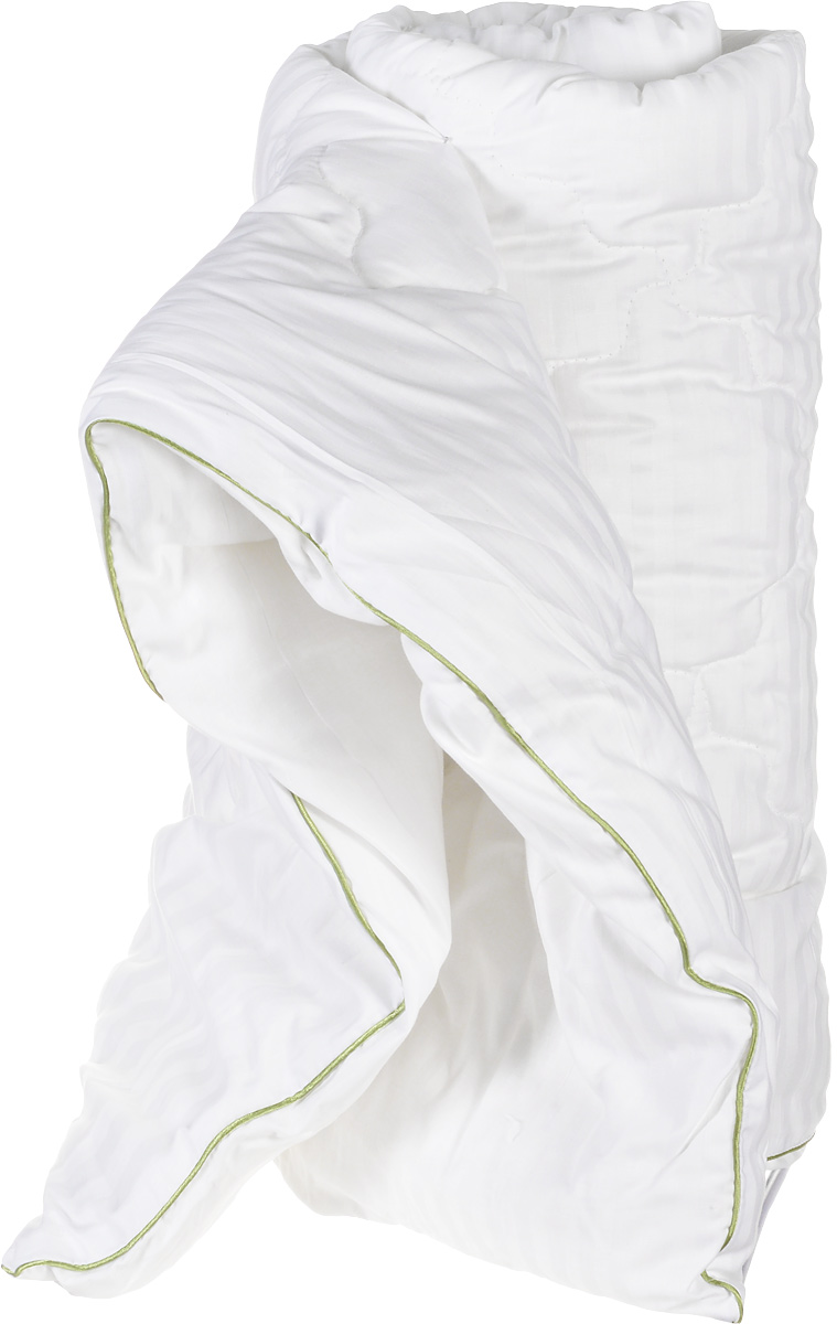 Легкие сны Одеяло детское теплое Бамбоо наполнитель бамбуковое волокно 110 см x 140 см110(40)03-БВДетское теплое одеяло Легкие сны Бамбоо с наполнителем из бамбука расслабит, снимет усталость и подарит вашему ребенку спокойный и здоровый сон.Волокно бамбука - это натуральный материал, добываемый из стеблей растения. Он обладает способностью быстро впитывать и испарять влагу, а также антибактериальными свойствами, что препятствует появлению пылевых клещей и болезнетворных бактерий.Изделия с наполнителем из бамбука легко пропускают воздух, создавая охлаждающий эффект, поэтому им нет равных в жару. Они отличаются превосходными дезодорирующими свойствами, мягкие, легкие, простые в уходе, гипоаллергенные и подходят абсолютно всем.Чехол одеяла выполнен из сатина (100% хлопок). Одеяло простегано и окантовано. Стежка надежно удерживает наполнитель внутри и не позволяет ему скатываться.Уход: деликатная стирка при температуре воды до 30°C, не отбеливать, не гладить, разрешается обычная сухая чистка с использованием тетрахлорэтилена и всех растворителей, перечисленных для символа P, барабанная сушка запрещена.