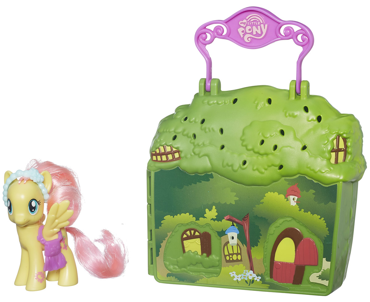 My Little Pony Игровой набор Cottage Fluttershy my little pony игровой набор dress shop rarity