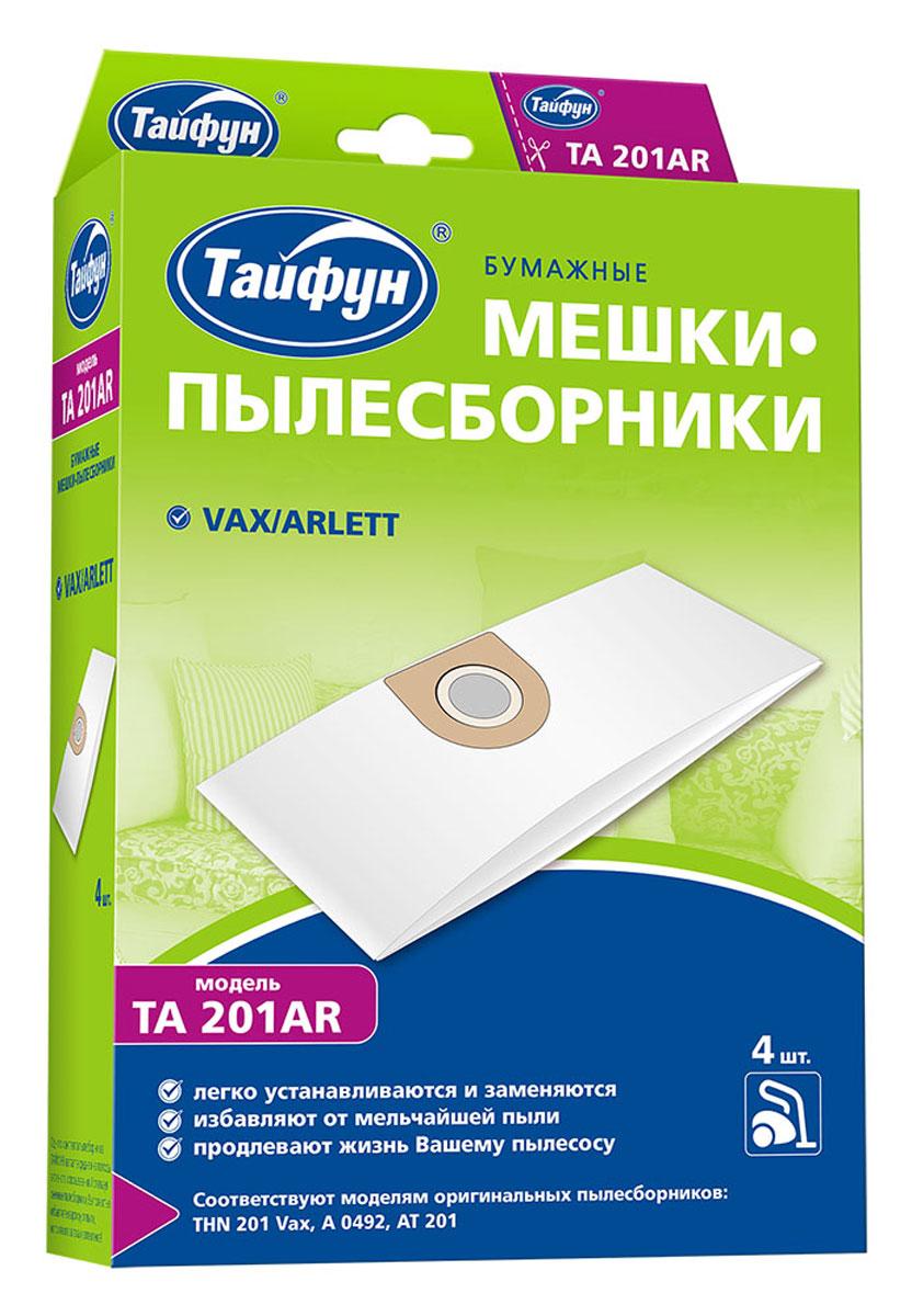 Тайфун 201AR бумажные мешки-пылесборники (4 шт.) цены