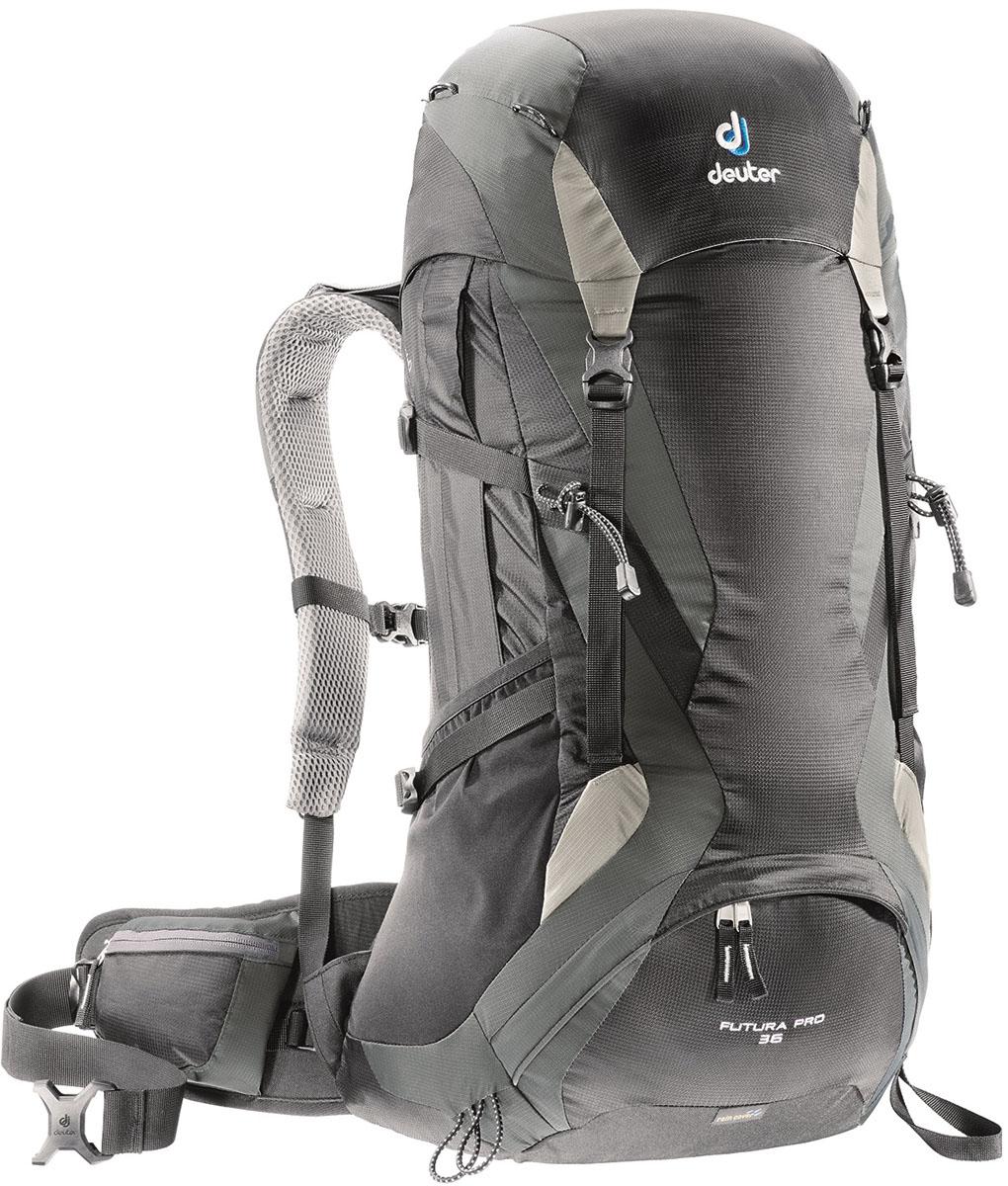 Рюкзак Deuter Futura Pro 36, цвет: черный, 36 л