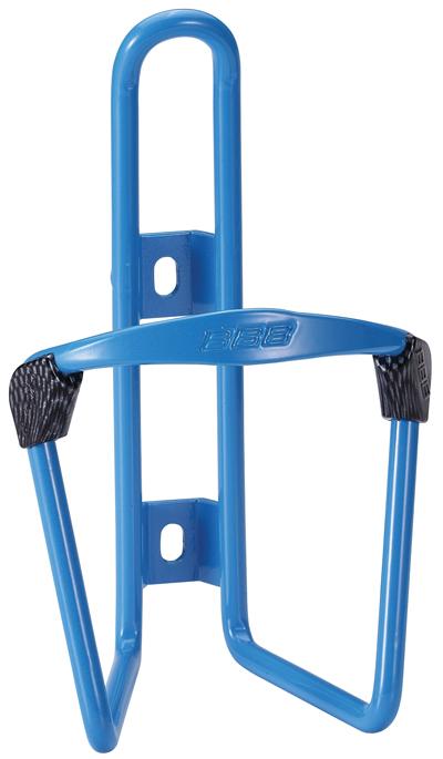 Флягодержатель BBB FuelTank, цвет: синийBBC-03Универсальный флягодержатель BBB FuelTank, выполненный из прочного алюминия, способен удерживать не только велофлягу, но и обычные пластиковые бутылки. Закрепляется на раме при помощи шурупов. По бокам имеются специальные накладки, предотвращающие стирание бутылки.Это незаменимая вещь для спортсменов и любителей длительных велосипедных прогулок. Благодаря держателю, фляга с водой будет у вас всегда под рукой.