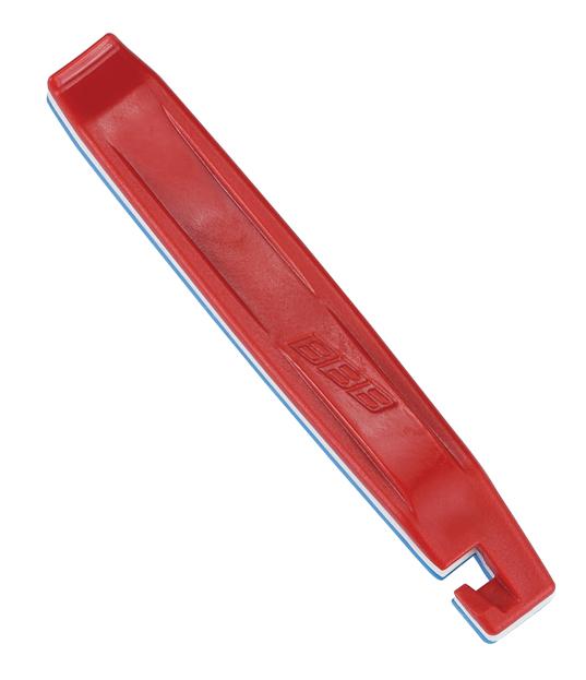 Инструмент BBB EasyLift, цвет: красный, белый, голубой, 3 штBTL-81Легкие в обращении инструменты BBB EasyLift предназначены для монтажа и демонтажа покрышек. Могут соединяться вместе. Инструменты выполнены из пластика.