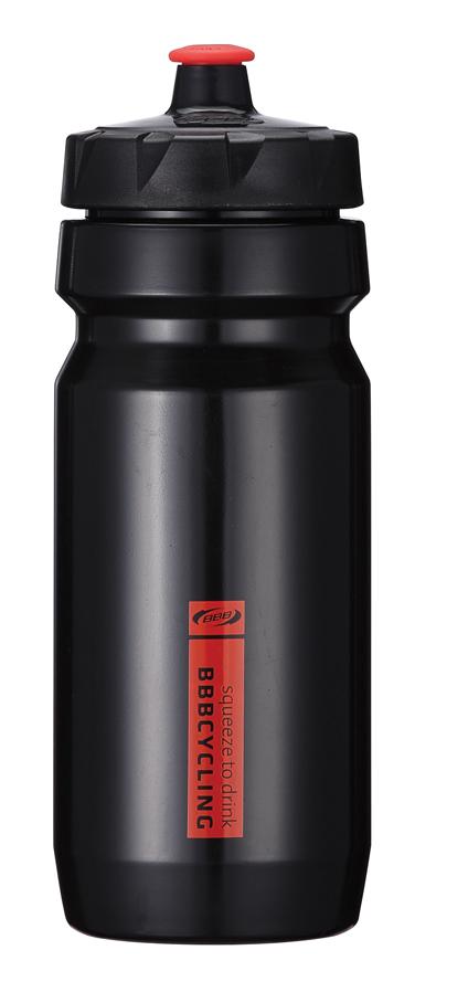 Бутылка для воды BBB CompTank, велосипедная, цвет: черный, красный, 550 мл