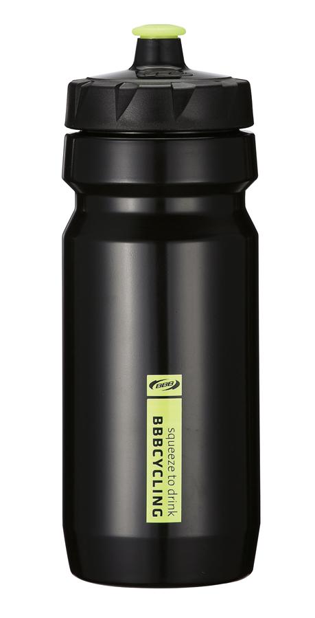 Бутылка для воды BBB CompTank, велосипедная, цвет: черный, желтый, 550 млBWB-01Бутылка для воды BBB CompTank изготовлена из высококачественного полипропилена, безопасного для здоровья. Закручивающаяся крышка с герметичным клапаном для питья обеспечивает защиту от проливания. Оптимальный объем бутылки позволяет взять небольшую порцию напитка. Она легко помещается в сумке или рюкзаке и всегда будет под рукой. Такая идеальная бутылка небольшого размера, но отличной вместимости наполняет оптимизмом, даря заряд позитива и хорошего настроения. Бутылка для воды - отличное решение для прогулки, пикника, автомобильной поездки, занятий спортом и фитнесом. Высота бутылки (с учетом крышки): 21 см.Диаметр по верхнему краю: 5,5 см.Диаметр основания: 6,5 см.