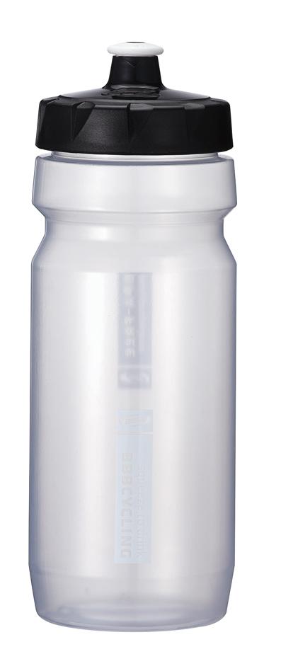 Бутылка для воды BBB CompTank, велосипедная, цвет: прозрачный, черный, 550 млBWB-01Бутылка для воды BBB CompTank изготовлена из высококачественного полипропилена, безопасного для здоровья. Закручивающаяся крышка с герметичным клапаном для питья обеспечивает защиту от проливания. Оптимальный объем бутылки позволяет взять небольшую порцию напитка. Она легко помещается в сумке или рюкзаке и всегда будет под рукой. Такая идеальная бутылка небольшого размера, но отличной вместимости наполняет оптимизмом, даря заряд позитива и хорошего настроения. Бутылка для воды - отличное решение для прогулки, пикника, автомобильной поездки, занятий спортом и фитнесом. Высота бутылки (с учетом крышки): 21 см.Диаметр по верхнему краю: 5,5 см.Диаметр основания: 6,5 см.