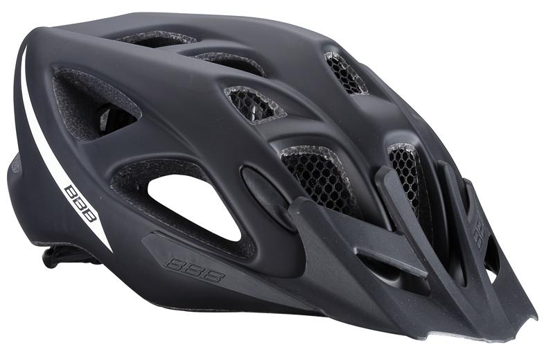 Летний шлем BBB 2015 helmet Elbrus with visor matt black. Размер L (57-63 см)