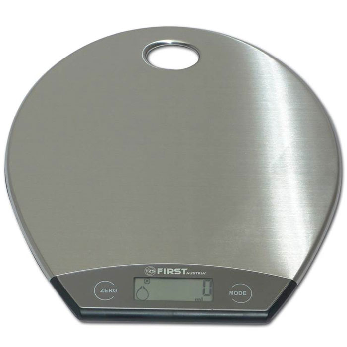 First FA-6403-1, Grey весы кухонные