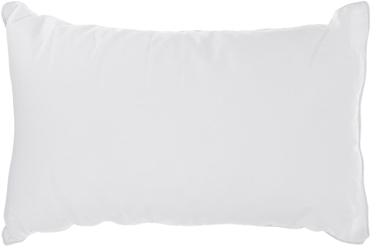 Подушка Легкие сны Лель, наполнитель: лебяжий пух, 38 х 60 см46(42)02-ЛППодушка Легкие сны Лель поможет расслабиться, снимет усталость и подарит вам спокойный и здоровый сон. Полиэфирное высокосиликонизированное микроволокно лебяжий пух - это искусственный аналог натурального лебяжьего пуха. По потребительским свойствам он не отличается от своего натурального аналога, он такой же легкий, пышный и теплый. Простота в уходе тоже имеет немаловажное значение, такое изделие предназначено для машинной стирки. Чехол подушки выполнен из пуходержащего хлопкового тика белого цвета. Это натуральная хлопчатобумажная ткань, отличающаяся высокой плотностью, идеально подходит для пухо-перовых изделий, так как устойчива к проколам и разрывам, а также отличается долговечностью в использовании. По краю изделие отделано атласным кантом. Степень поддержки: средняя.
