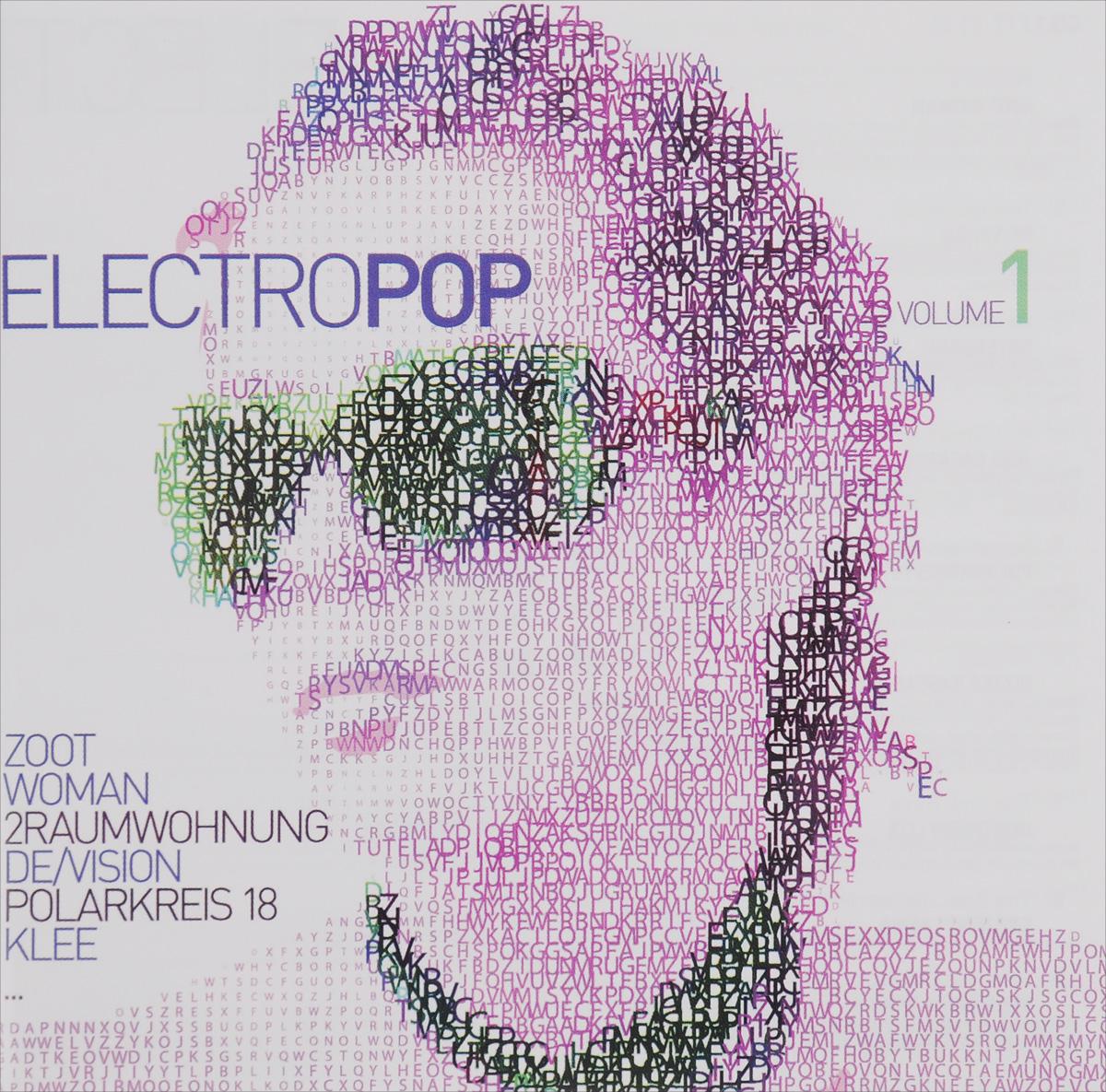Zoot Woman,De/Vision,Rotersand,Juri Gagarin,Polarkreis 18,Диззи Раскал,Northern Lite,Frozen Plasma,Frittenbude,Supershirt,2raumwohnung,Klee,Сара Нокс,Spillsbury,P24,Петер Лихт,Helalyn Flowers,Bodi Bill,Chapeau Claque,Lyronian Electro Pop Vol. 1 (2 CD) electro voice electro voice tx1181