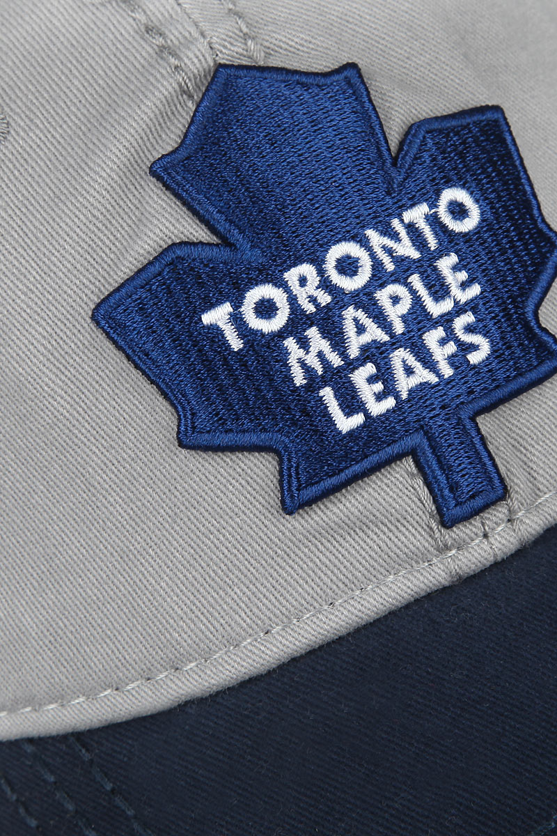 Бейсболка NHL Toronto Maple Leaf, цвет:  серый, темно-синий.  29057.  Размер LXL (55-58) NHL