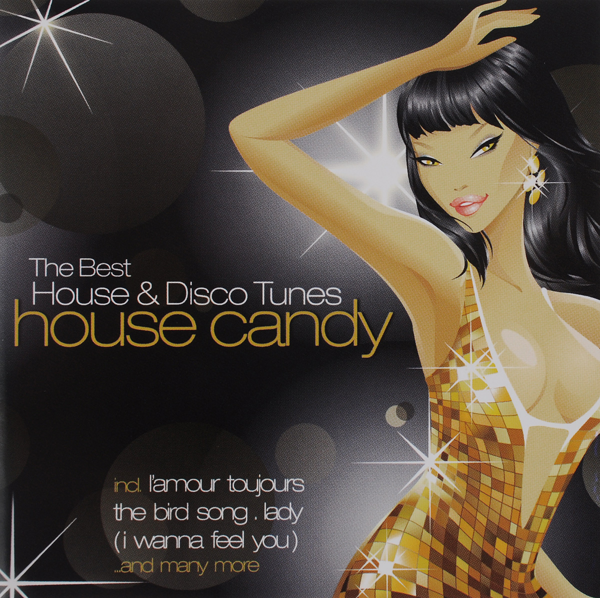 54,Черил Линн,Пол Гетта,Jam & Tonic,Эрик Амадор,Genius,Die Elfen,DJ Sneak,Antoine,DJ Sleazy House Candy - The Best House & Disco Tunes (2 CD) музыка cd dvd dj dj best disco dsd cd